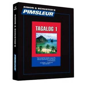 Pimsleur Tagalog Level 1 CD: Learn to Speak and Understand Tagalog w - VERY GOOD