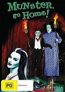 Munster, Go Home (DVD) Herman Munster. NEW/SEALED