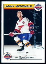 Zellers Masters of Hockey Lanny McDonald Autographed Signed Card w/COA #519/1000