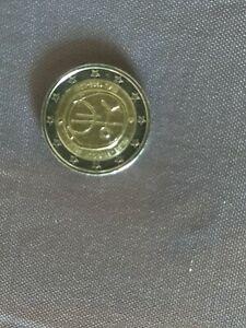 Piece rare commémoratif  fauté de 2 Euros Belgique