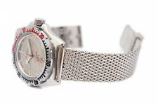 20mm Stainless Steel Shark Mesh Watch Strap Bracelet For VOSTOK Amphibia