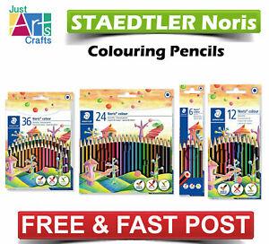 STAEDTLER Noris Colouring Pencils - Art Creative Fun - Pack Of  6,12,24 or 36
