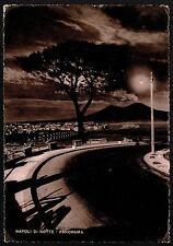 AD2121 Napoli - Città - Panorama notturno