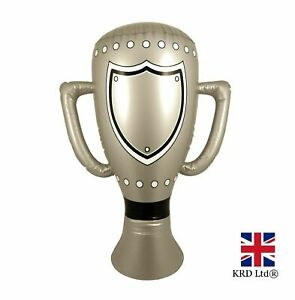 Inflatable Trophy 60cm Kids Party Game Prizes Awards Blow Up Pool Party Toys UK.