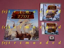 Nintendo DS _ ANNO 1701 & offiz. soluzione libro _ TOP-stato _ 1000 giochi nel negozio