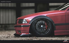 BMW 3 E36 FENDER FLARES / FULL SET 4 PICES / PERFECT FIT !!!!!