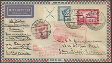 """""""BREMEN"""" BALLOON FLIGHT COVER GERMANY TO SAN DIEGO, CAL. BS464"""