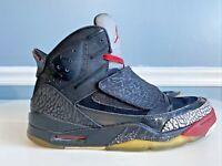 Jordan Son Of Mars 'Black Cement' 512245-001 Black/Varsity Red Size 10.5 - Spike