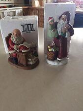 Lot Of 2 Home Interior Homco 5118 And 5601 Christmas