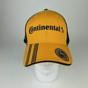 Continental Tires Since 1871 Hat - New -Yellow and Black - Ones Size Fits All