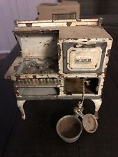 """Circa 1920's Arcade Manufacturing Co. Cast Iron Toy """"Roper"""" Gas Stove"""