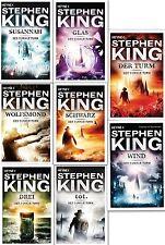 Der Dunkle Turm Serie Stephen King Gesamtausgabe Schwarz Drei Tot Glas Wolfsmond