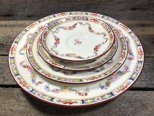 Antique Mintons Burley & Co China Dinner Salad Plate Saucer Finger Bowl Set Lot