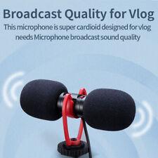 Sairen T-Mic Dual Head Video Recording Mic Microphone for DSLR/SLR Camera Vlog