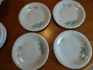 "8 Shenango China SHO93 Luncheon or Salad Plates 8 1/4""  New Castle PA"