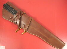WWII US M1938 Leather Rifle Scabbard w/Straps M1 Garand - Dated 1944 - Repro