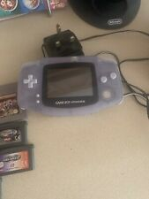 gameboy advance console With Games