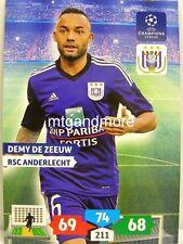 Adrenalyn XL Champions League 13/14 - Demy De Zeeuw - RSC Anderlecht