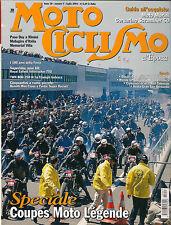 07 2004 MOTOCICLISMO D'EPOCA moto morini 50 scrambler - fantic super rocket TWG