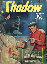 The SHADOW PULP MAGAZINE Aug 15, 1941