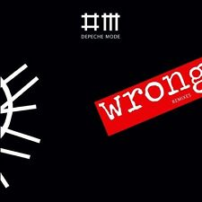 Cardsleeve Single cd Depeche mode WRONG ( remixes )