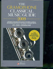 THE GRAMOPHONE CLASSICAL MUSIC GUIDE 2009-BOOK W/DVD-CD-DOWNLOAD BRAND NEW SALE!