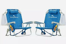 2 PACK tommy bahama backpack cooler beach chairs