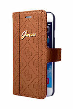 GUESS Scarlett Booktype Flip Case for iPhone 6/6S Plus Brown (GUFLBKP6LSCCO)