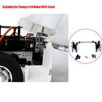 Edelstahl 1:14 Autokabinen-Metallhalterungsteil für Tamiya Volvo FH16FH12