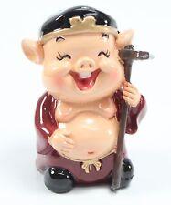 Cute Miniature Pigsy Pig Buddha - Feng Shui Decoration Zhu Bajie