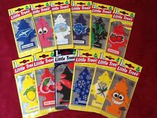 12 MAGIC LITTLE TREES CAR & HOME AIR FRESHENER 100% AUTHENTIC MIX OF FRAGRANCES