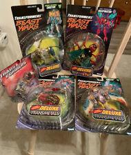 Transformers Beast Wars Transmetals Lot MOC Rattrap, Airazor, etc..