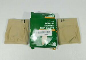 Rite Aid Foot Care Plantar Fasciitis Gel Arch Sleeves  1 Pair