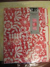 ie Fashion File Folders 6 count each pack NEW