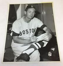 vintage 8x10 baseball press photo ~ BOSTON RED SOX
