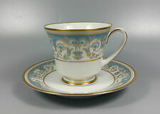 NORITAKE POLONAISE 2045 TEA CUP AND SAUCER (PERFECT)