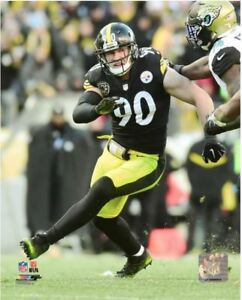 T.J. Watt Pittsburgh Steelers Authentic Licensed 8x10 Action Photo #2 FREE SHIP