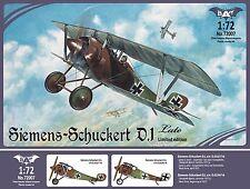 1/72 Siemens-Schuckert D.1 Late - New- Bat Model- Rare! !