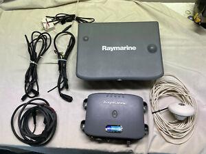 Raymarine C120 & DSM250, GPS Antenna and Cables