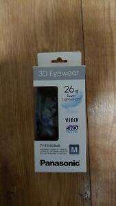 Panasonic Viera 3D Glasses 3D eyewear TY-EW3D3ME USB Rechargeable