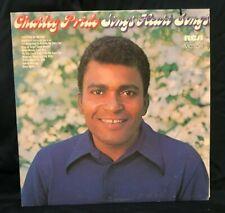 """Charley Pride Sings Heart Songs Vinyl Records Music LP Record 12"""" Vintage Album"""