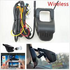 160° Wide Angle HD 1080P Vehicle Hidden Wireless Camera Video Recorder Dash Cam
