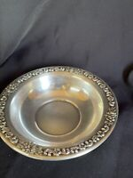 Vintage F.B. Rogers 6.5 In. Round Silver Plate Bowl - Candy dish