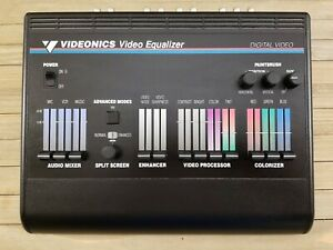 Videonics Video Equalizer VE-1 - Untested For Parts No Power Supply