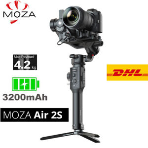 DHL MOZA Air 2S 3-Axis Gimbal Stabilizer Smart Micro HandWheel For Camera DSLR