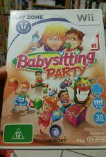 Babysitting Party NINTENDO WII - FREE POST
