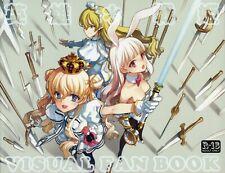 Eiyuu Senki GOLD Visual Fanbook (Oyari Ashito) 英雄*戦姫 Book NEW Never Used JAPAN