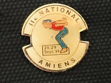PINS PIN BADGE SPORT PETANQUE AMIENS