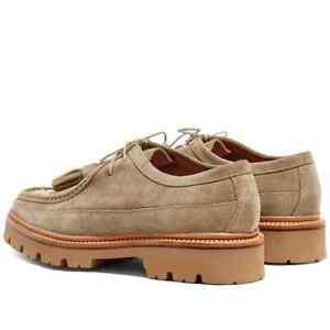 Grenson Brady Derby Chukka Suede Mens Shoes Size 10/E