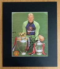 Peter Schmeichel Manchester United Genuine Hand Signed Image + COA (30cm x 36cm)